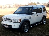 Photo White Land Rover Discovery 3 2.7 TDV6 E with...
