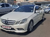 Photo Mercedes-Benz E 350 Coupe 7G-Tronic, White with...