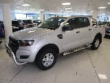 Photo 2017 Ford Ranger 2.2 TDCi XL 4x4 D/Cab, Silver...